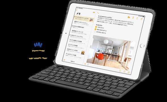 iPadにキーボードを接続すればビジネスに最適