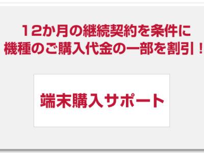 3月1日から5機種が端末購入サポート化