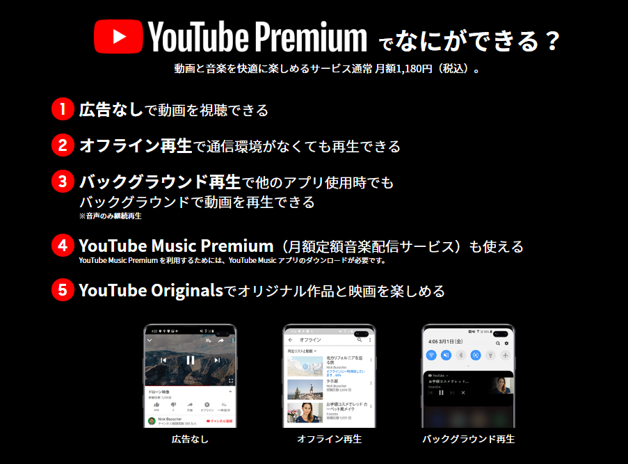 YouTube Premiumeキャンペーン
