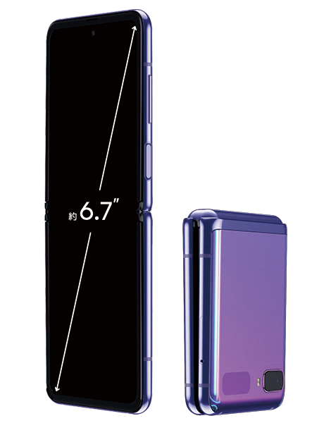 Galaxy Z Flip SCV47 11