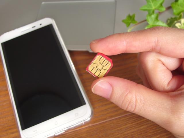 SIMカード フリー画像