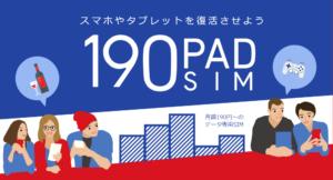 b-mobielの190 PAD SIM