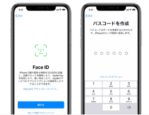 Touch ID Face ID