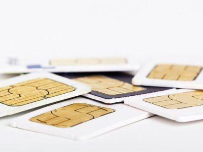さまざまなSIMカード