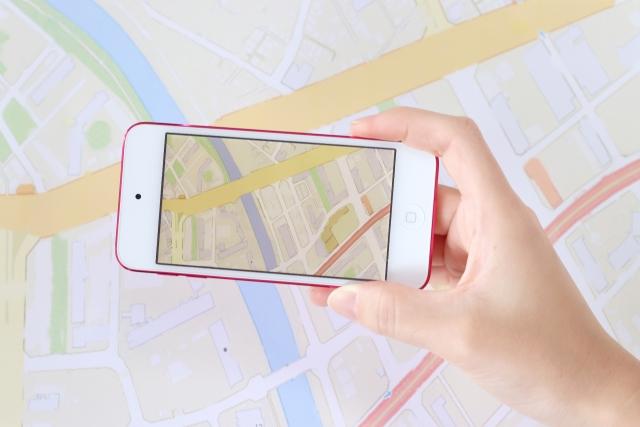 iPhone 地図