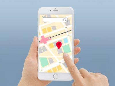 iPhone地図