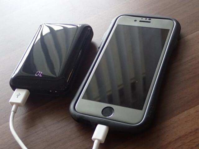 iPhoneと充電器