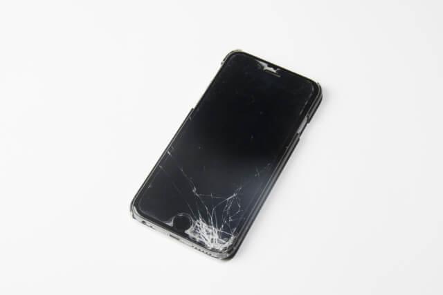 iPhone 割れ2
