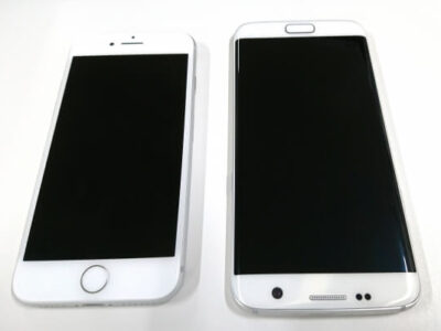 AndroidとiPhone