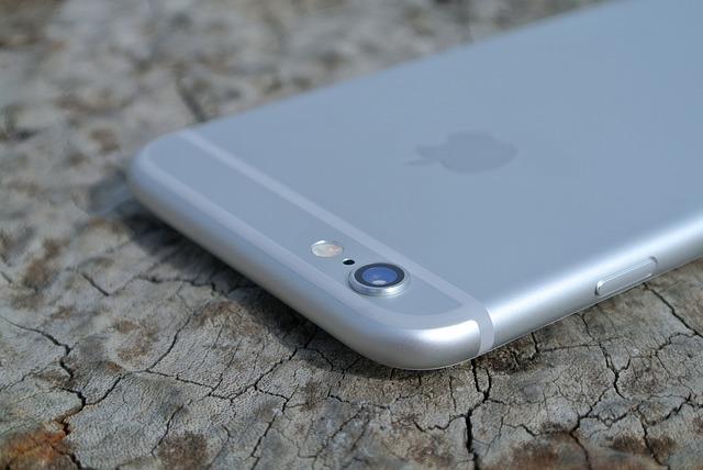 iPhoneシルバー