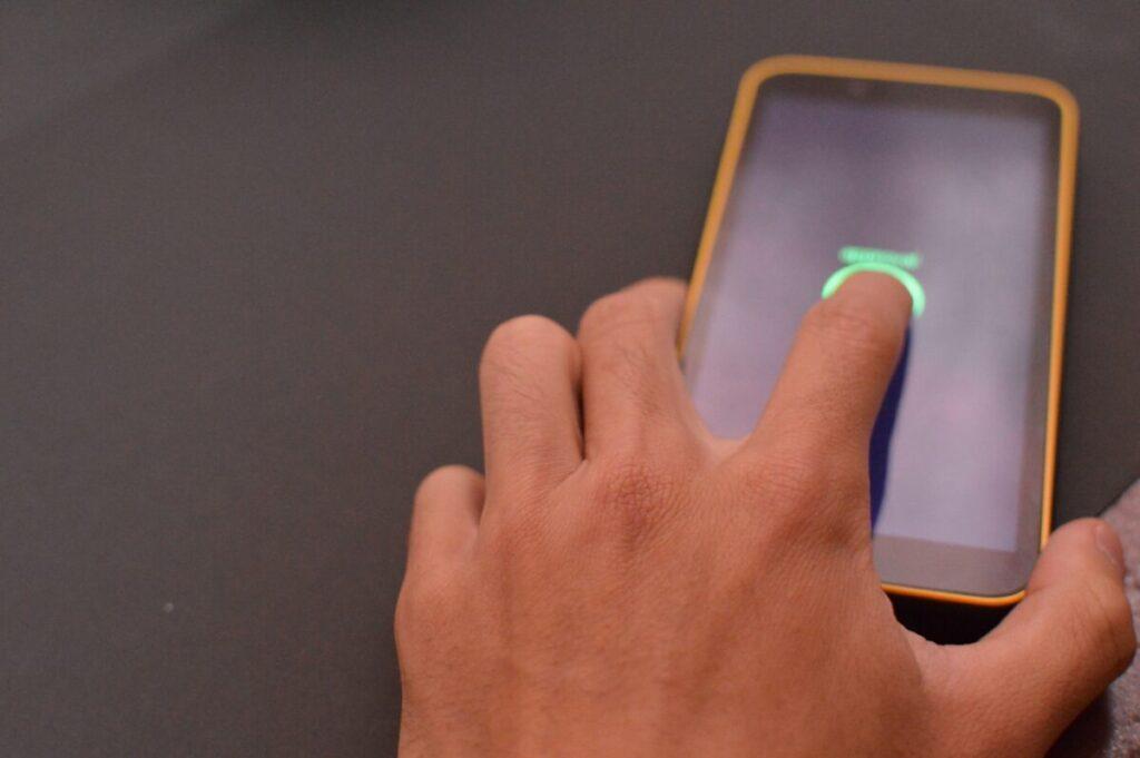 指紋認証 フリー