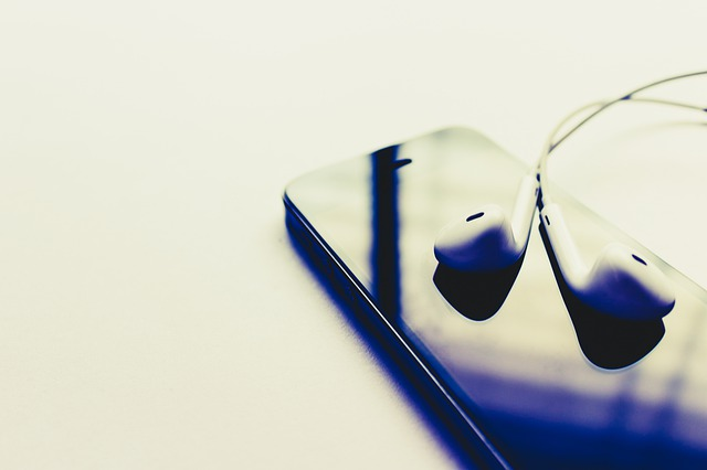 iPhoneとイヤホン3