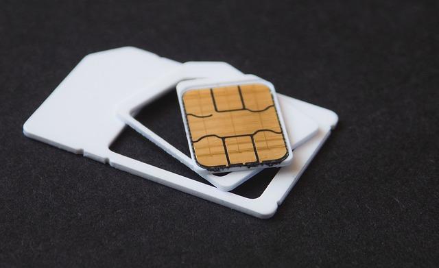SIMカードズーム
