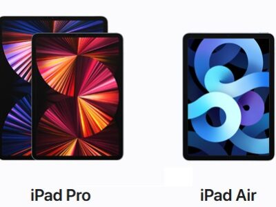 iPad Pro、iPad Air
