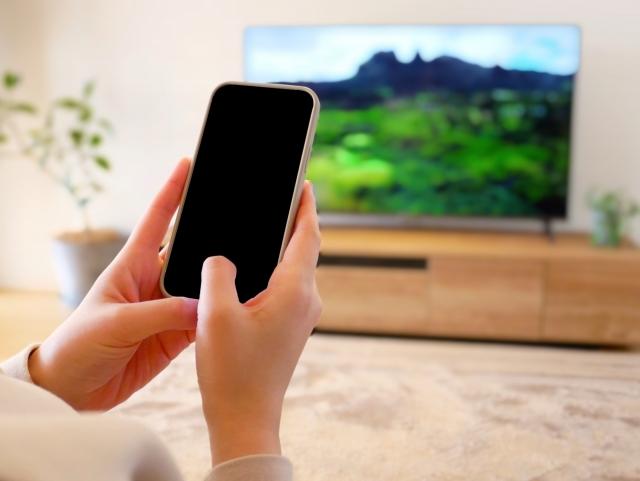 iPhoneとテレビ